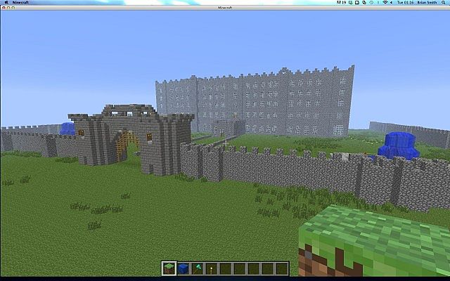 Amazing Cobblestone Castle