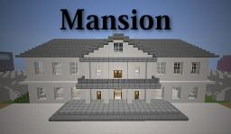 White House Inspired Mansion Minecraft Project
