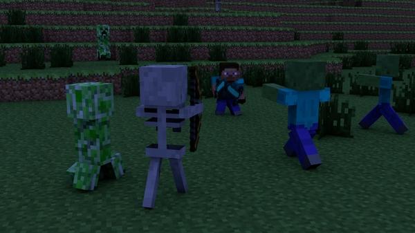 Where is he pt 1 minecraft blog - Minecraft zombie vs creeper ...