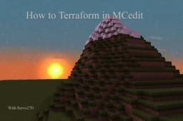 How to Terraform in MCedit Minecraft Blog