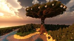 Tree of The White Goddess Minecraft Map & Project