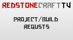 RedstoneCraftTV: Project/Build Requests Minecraft Blog