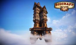 The Sky Inn ( Bioshock Infinite Inspired) Minecraft Map & Project