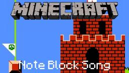 Minecraft Note Block Song: Super Mario Bros: Flagpole Theme Minecraft Map & Project