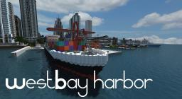 WestBay Harbor in BayView city Minecraft