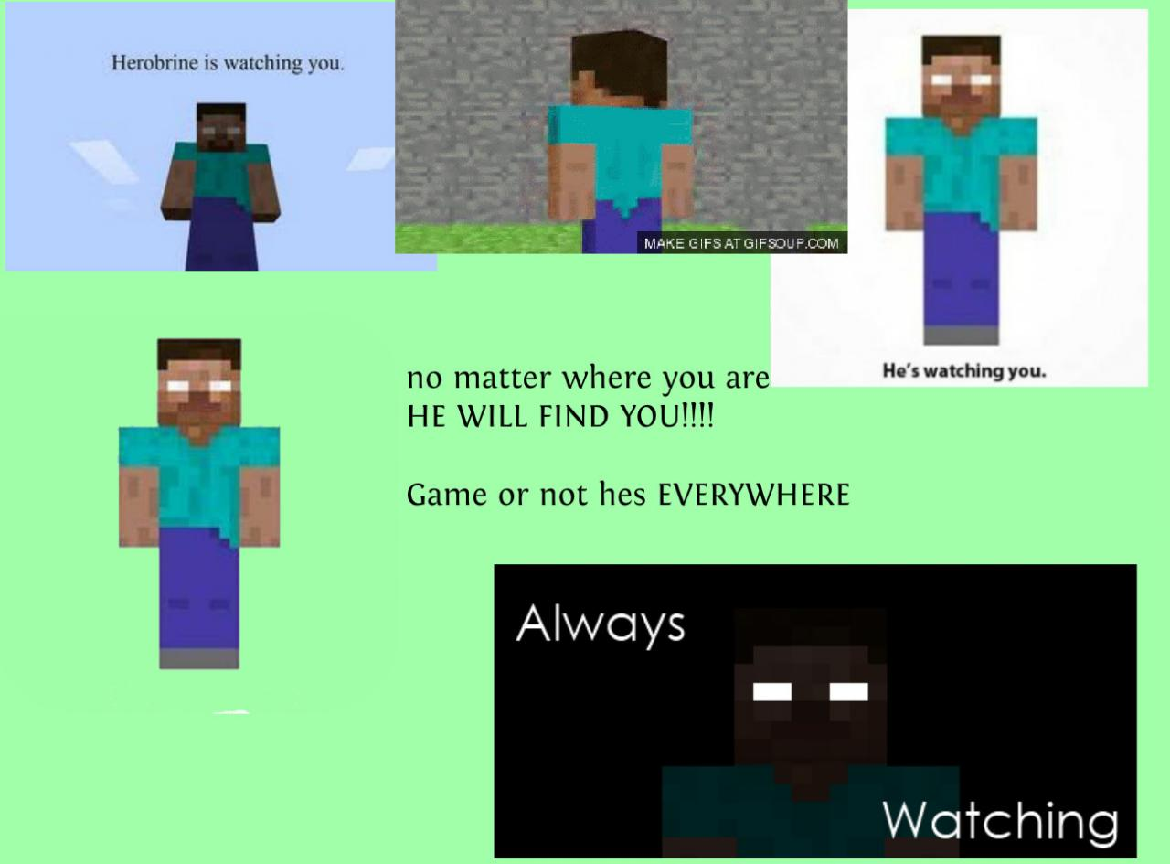 minecraft herobrine Pictures, Images & Photos | Photobucket