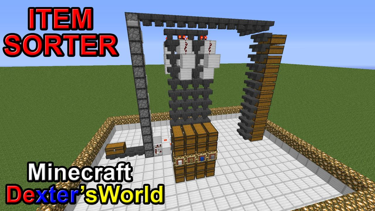 Ultimate Item Sorter for Minecraft 1.13 & 1.14 (Uses ...