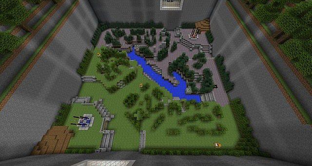 карта доты для minecraft #2