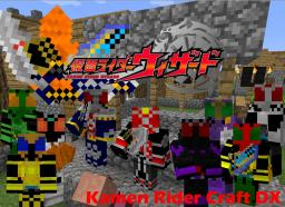 (1.6.4)Kamen Rider Craft DX (Forge) Mobs Food And More Minecraft Mod