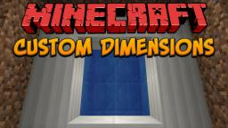 Custom Dimensions Minecraft Map & Project