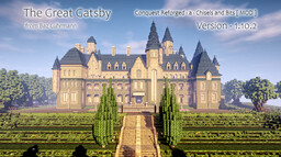 The Great Gatsby Mansion [ Conquest Reforged ]  ( Under Construction ) Minecraft Map & Project