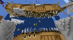 Naval Battle late 18th century Minecraft Project