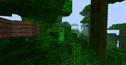 My first Creeper Minecraft Texture Pack