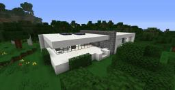 Small Modern House In The Forest Minecraft