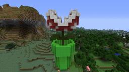 Mario Bros. Piranha Plant Minecraft Project