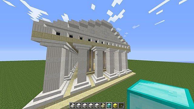 Project Acropolis Part 1 Parthenon Minecraft Project