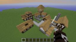 Cooler Mediveval City Minecraft Project
