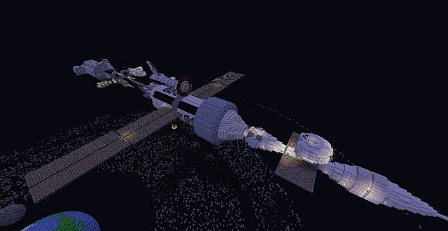 Steves interstellar space station tothestars minecraft project the whole space station gumiabroncs Choice Image