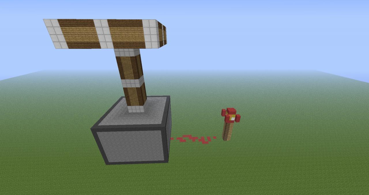 Piston Statue (Powered) Minecraft Project