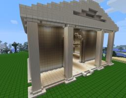 Greek Temple (Spawn For MecGaming) Minecraft Project
