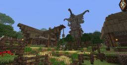 Falcrest Village Minecraft Map & Project