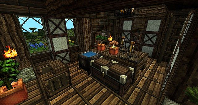 Survival House 7 Textures Minecraft Project