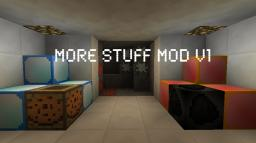 MoreStuff V1.1 Minecraft