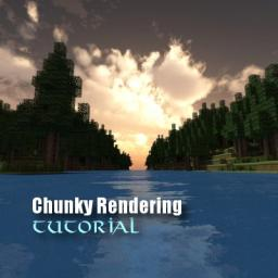 Rendering pictures with Chunky - Tutorial Minecraft