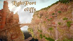 LightPort Cliffs - The Steampunk Cookie factory with timelapse Minecraft Project