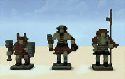 Greek Roman Eygptian mini Statues Minecraft Map & Project