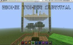 Biome Tower Survival V1.0 Minecraft Map & Project