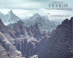 Huge Skyrim Inspired Mountain Range Minecraft Map & Project