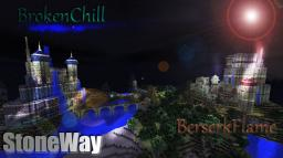 [StoneWay] [PVP] [CLASH] [BrokenChill] V.S. [BerserkFlame] Minecraft Map & Project