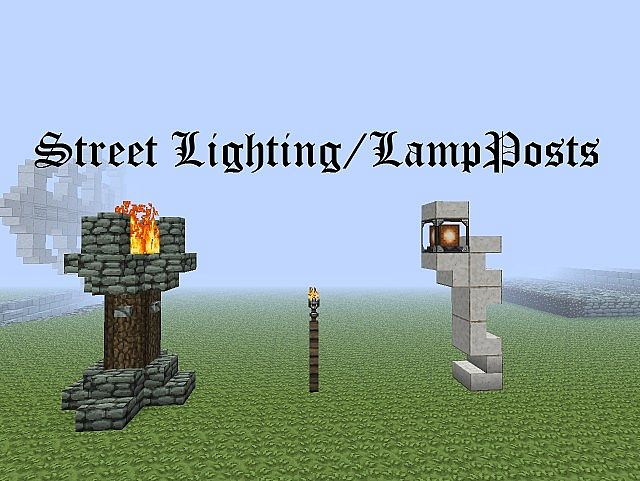 Zeverth S Brisk Builds 2 Street Lighting Lampposts
