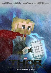 THOR - The Dark World - A Minecraft Poster Minecraft Blog