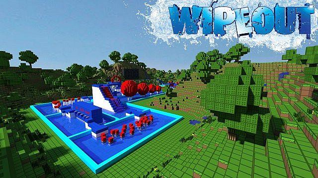 minecraft wipeout free online game