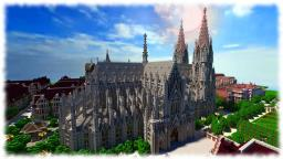 Cologne Cathedral ( Vitruvian City ) Minecraft