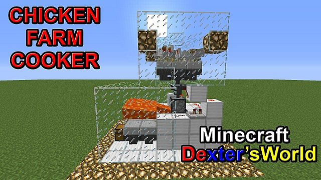 Chicken Cooker Farm Minecraft Project
