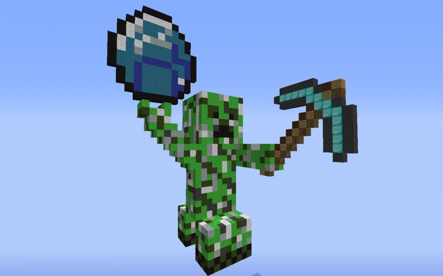 how to get diamond pickaxe in minecraft