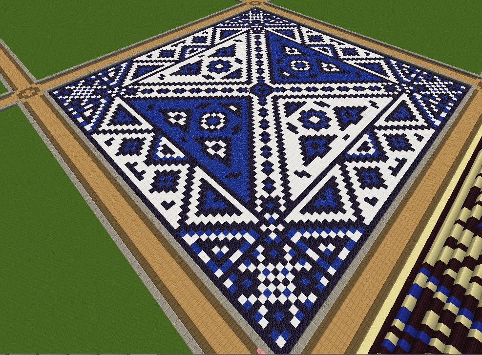 Decorative Floor Minecraft Project