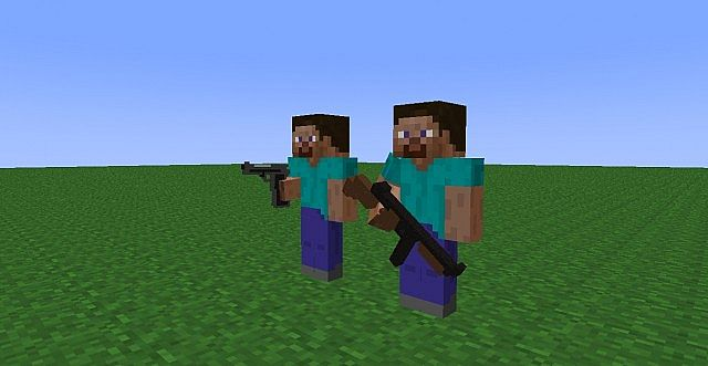 Mine Imator Guns Wepons Firearm Shematic Re Upload Minecraft
