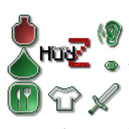 HudZ - A HUD for playing MineZ