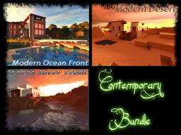 Contemporary Home Bundle Minecraft Map & Project