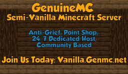 GenuineMC Semi-Vanilla [1.15.2] Minecraft Server