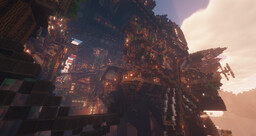 Steampunk City - Brassington (& Wroxeter) Minecraft Map & Project