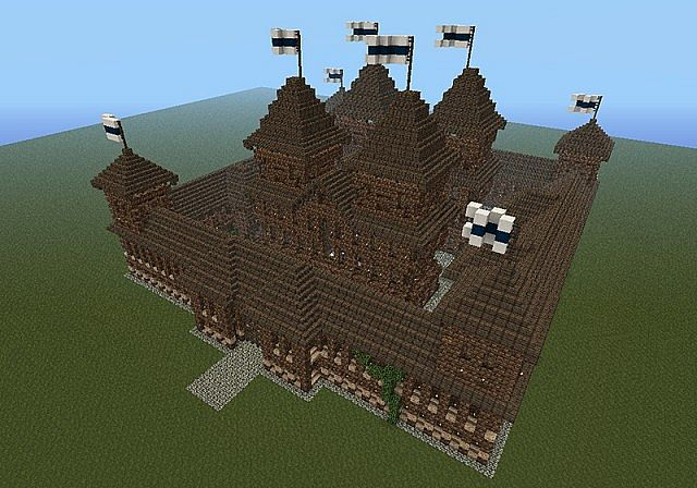 Small Castle Keep Spawn Minecraft Project