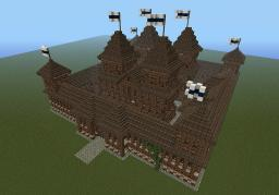 Small castle keep / spawn Minecraft Map & Project