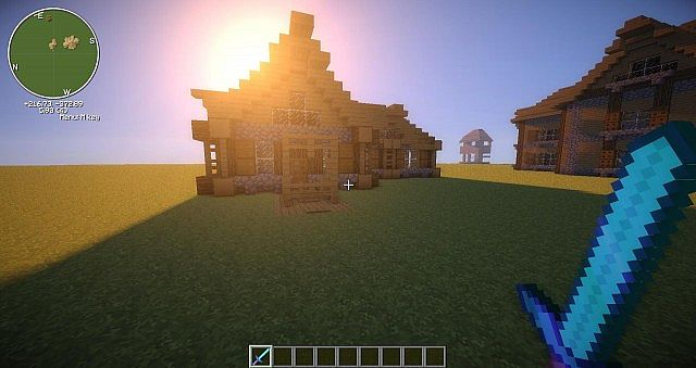 Epic Wood And Stone House Design Minecraft Project