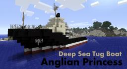 Multi-Purpose Offshore Ship - Anglian Princess (THREE COLOR SCHEMES - REAL SHIP) Minecraft Map & Project