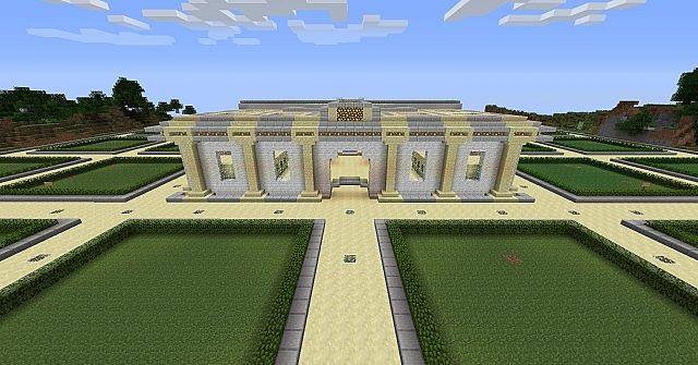 Schöner Admin Shop Minecraft Project